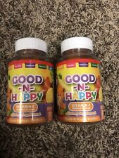 Lot of 2 bottles/180 gummies Good -N- Happy Vitamin C exp 04/2022 SEALED