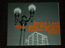 Steve Lacy New Jazz Meeting: Baden-Baden 2002 (CD, 2007, Hat Hut Records) sealed