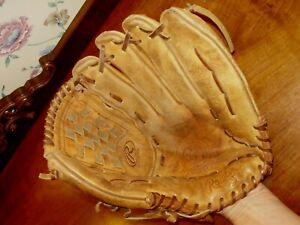 """RAWLINGS HERITAGE SERIES MODEL XFG140S 14"""" RHT SOFTBALL GLOVE EXCELLENT COND.!!"""