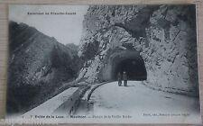 Carte postale CPA 25 vallée de la loue mouthier percée de la vielle roche ne