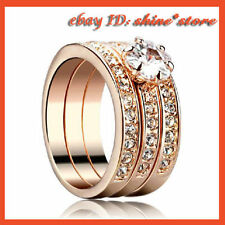 Topaz Solitaire with Accents Fashion Rings