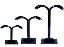 3er Set Schmuckhalter Schmuckstaender Ohrringhalter Ohrringständer schwarz neu