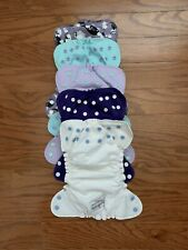 Lot of 5 Applecheeks Cloth Diaper Covers Size 1