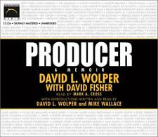 Producer: A Memoir Unabridged David Fisher & Wolper AUDIO BOOK CD TV Roots show
