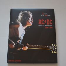 AC/DC - BLACK ICE WORLD TOUR 2008-2010 - 2010 LTD. EDITION 184-PAGE BOOK