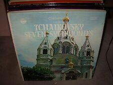 SARGENT / GOOSSENS / TCHAIKOVSKY seven symphonies ( classical ) 7lp box everest