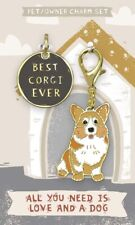 Corgi Collar Tag and Charm Set