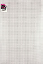 """""""Ultra Stiff Plastic Canvas 7 Count 12""""""""X18""""""""-Clear, Set Of 6"""""""