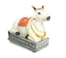 INDIAN HINDU NANDI COW MURTI GAI HINDU STATUE GOD HINDU COW