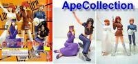 Set 5 Figurine Lupin The 3rd Girls Collection Gals Fujiko Bandai Japan New Neuf