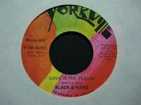 Black & Ward Rare Promo Canadian Yorkville 45 /  Love Is The Feelin' / FM & AM