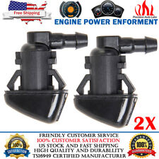 2x Windshield Washer Nozzle For Ford F250-F550 2008-2010 Super Duty 7C3Z-17603-A