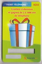 FRANCE  TICKET FT / PHONECARD .. PR183 JEU PAQUET CADEAU 31/12/2004 +N° NEUVE