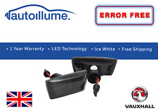 Vauxhall Dynamic Sweeping Indicators Smoked LED Corsa Astra Adam Insignia Zafira