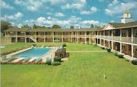 LAM(Y) Angola, IN - Redwood Motel - Exterior and Swimming Pool View