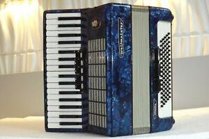 Piano accordion akkordeon fisarmonika WELTMEISTER  STELLA  80 bass