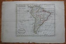 Guthrie: Map of South America - 1790