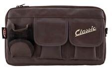 Classic Vespa Glove Box Storage Bag Brown Leather Effect Universal Fit
