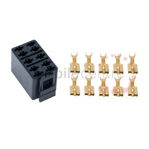 Carling Contura II standard VC2-01 black switch connector base plug socket crimp