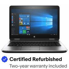 """Portátil empresarial HP ProBook 640 G2 14"""" Full HD i5-6300U 8GB 256GB SSD Cámara web Win10Pro"""
