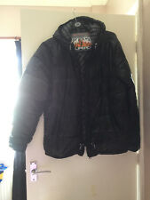 RELISTED SUPERDRY Black Mens Puffer Jacket Coat Size 2XL climbing conference