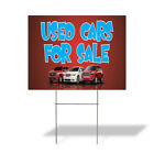 Weatherproof Yard Sign Used Cars for Sale A Advertising Printing Lawn Garden