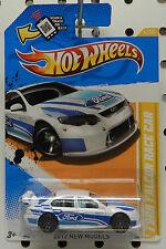 2012 FORD FALCON RACE CAR WHITE 4 2011 ROAD RALLY HW HOT WHEELS