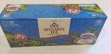 Ceylon FINEST Steuarts Premium BOPF pure  Black tea25 Tea bags from Sri Lanka
