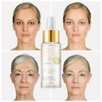 24k Gold HYALURONIC ACID / Snail Face SERUM Moisturising Hydrating Anti Wrinkle