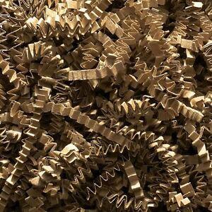 Shredded CRINKLE CUT Paper Natural KRAFT | Gift Hamper Shred Filler