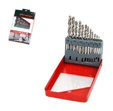 NUOVO 13 Pezzi Set Punte Trapano HSS 1.5 mm - 6.5 mm metallo legno plastica NEILSEN FREEPOST