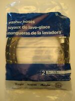 Washer Hoses 2 5 ft Universal industrial grade For Whirlpool Maytag Amana roper