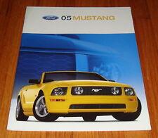 Original 2005 Ford Mustang Sales Brochure V6 GT Deluxe Premium