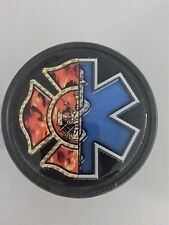 Maltese Cross/Star of Life Trailer Hitch Receiver Cover  #MI24