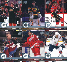 2017-18 Upper Deck Series 1 Hockey - Base Cards - Pick From Card #'s 1-200