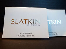 Slatkin & Co. ORANGE FLOWER CITRON Eau De Parfum .05 oz/1.5 mL Trial Sz NEW x 5