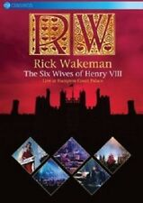 RICK WAKEMAN - THE SIX WIVES OF HENRY VIII-LIVE AT HAMPTON COURT  DVD NEW+