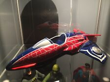 Hypersonic Spider Jet plane SPIDER-MAN 2008 Hasbro Marvel 14-inch Avengers movie