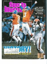 SPORTS ILLUSTRATED MAGAZINE- January 19, 1987