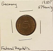 1950F Germany 5 Pfennig