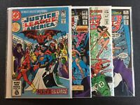 Justice League America #194,197,200 & 202 Signed SS DC Comics Combine Shipping