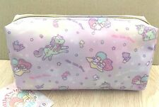 New Sanrio Little Twin Stars Pencil case Makeup bag Cosmetic pouch Pink unicorn