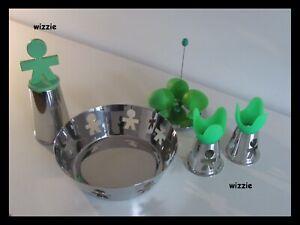 ALESSI : Basket / Bowl + Lilliput + Egg Cups + Pepper Mill KING KONG / Girotondo