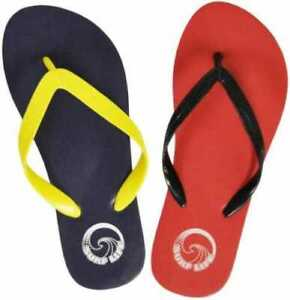 Kids Surf Life Flip Flops Sandals Pool Shoes Red Blue Sizes 3-6 UK NEW FREE POST