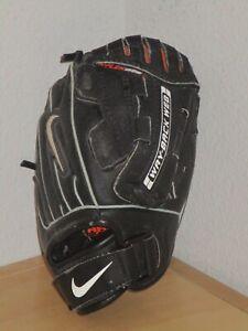 Nike Diamond T-Ball Kids Black Baseball Softball Glove RHT Good Condition
