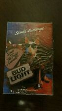 Rare Vintage Bud Light Spuds Mackenzie 1987 Playing Cards Deck Factory Sealed