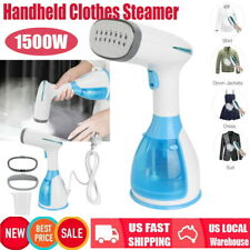 Handheld Garment Steamer 1500W Portable Travel Fabric Wrinkle Iron Fast Heating