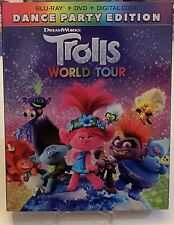 Trolls World Tour (Blu-ray + DVD, 2020, 2-Disc Set)