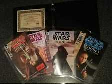 DYNAMIC FORCES STAR WARS EPISODE 1- THE PHANTOM MENACE #1-#4 - SIGNED COLLECTION