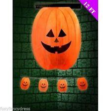 Decoración de color principal naranja Halloween para fiestas